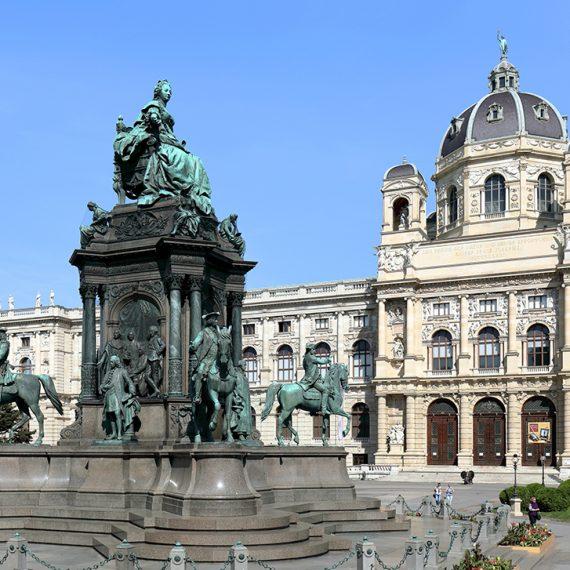 Bild vom Maria-Theresien-Platz in Wien
