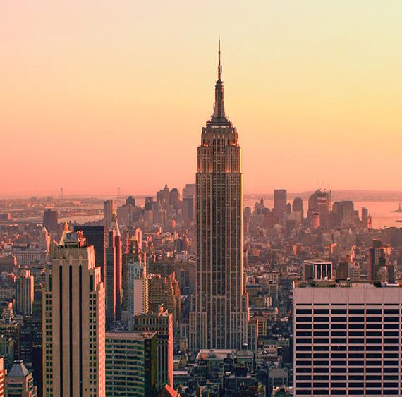 New York city skyline for GBI CPO Event